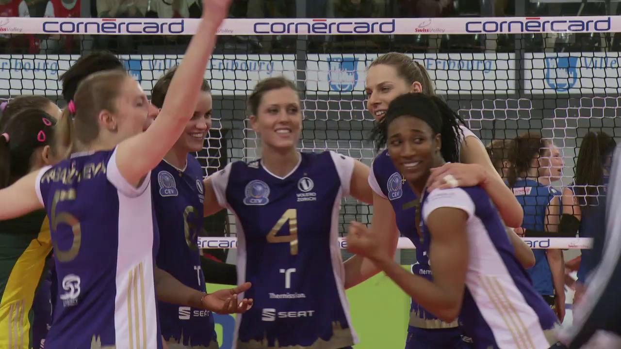 Cupfinal Frauen: Volero zum 12. Mal Cupsieger