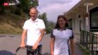 Video «Triathlon: Nicola Spirig im Aufbau» abspielen