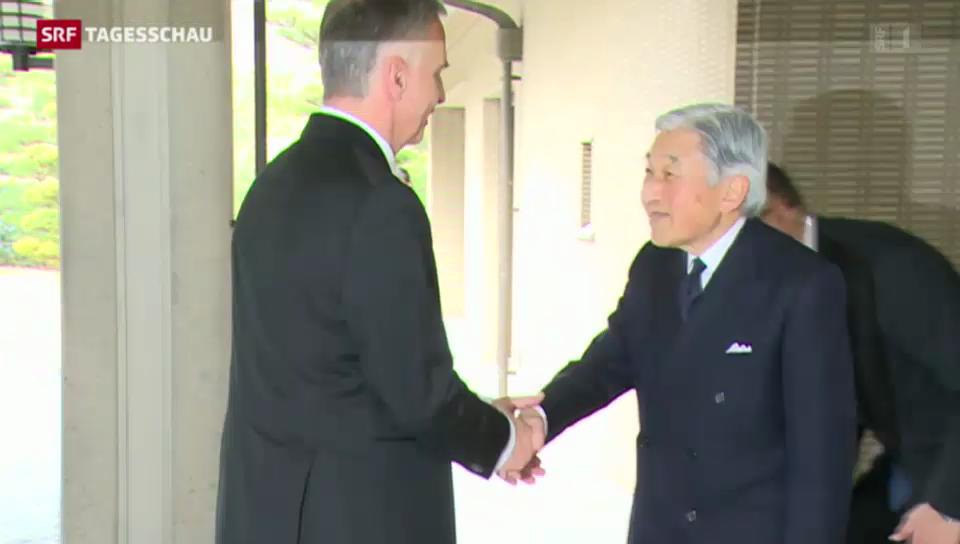 Didier Burkhalter zu Besuch in Japan