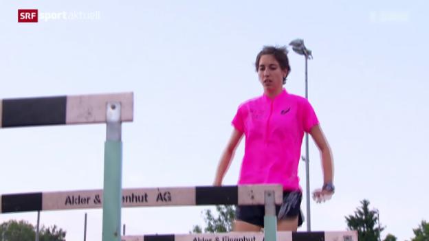 Video «Leichtathletik: Porträt von Fabienne Schlumpf» abspielen
