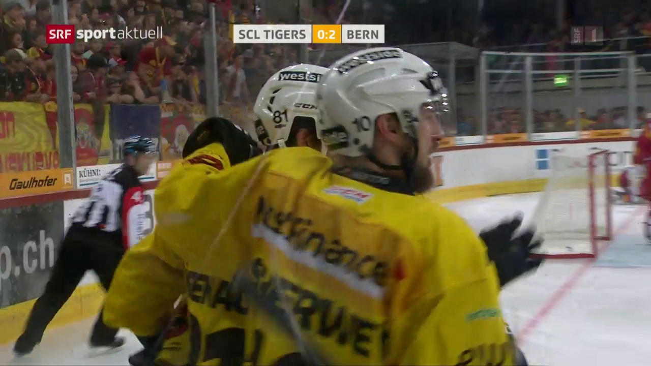 Die SCL Tigers unterliegen dem SC Bern