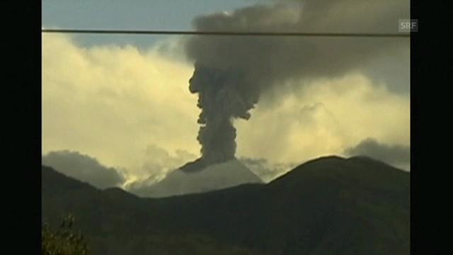 Morgenstimmung am Vulkan Tungurahua (ohne Kommentar)