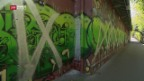 Video «Attacke auf Auftrags-Graffiti in Zürich» abspielen