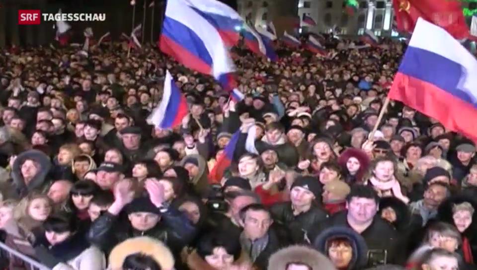 Krim-Votum pro Russland