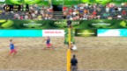 Video «Beachvolleyball: WM in Stare Jablonki» abspielen