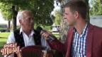 Video ««Potzmusig» hinter den Kulissen: Werner Gasser» abspielen