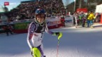 Video «Ski alpin: Weltcup Frauen Slalom in Zagreb» abspielen