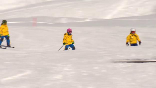 Video «Kinder verlieren die Lust am Skifahren» abspielen