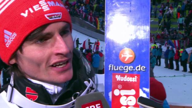 Video «Skispringen: Richard Freitag im Interview» abspielen