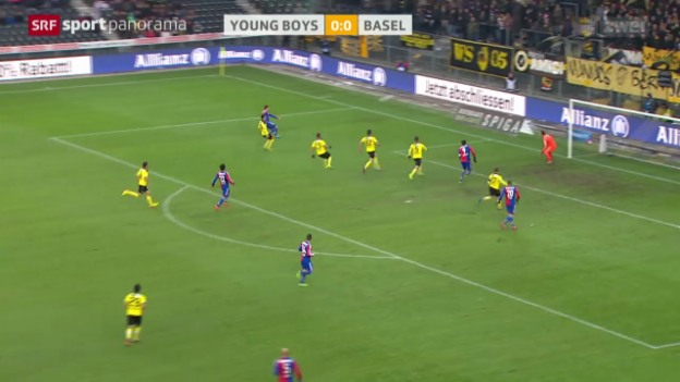 Video «Fussball: Super League, Young Boys - Basel» abspielen