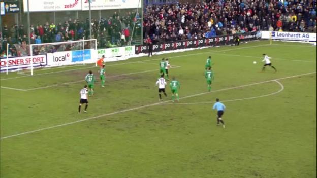 Video «Schweizer Cup: Aarau trifft auf GC» abspielen