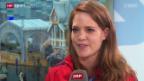 Video «Eishockey: Portrait Florence Schelling» abspielen