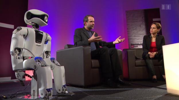 Video «Mensch, Roboter! Wenn Maschinen zu denken beginnen» abspielen