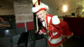 Video «Matula am «Pfyfferli»: Claus Theo Gärtner als Basler Fasnächtler» abspielen
