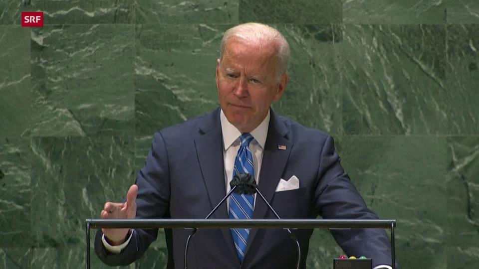 Biden: «Wir streben keinen neuen Kalten Krieg an»