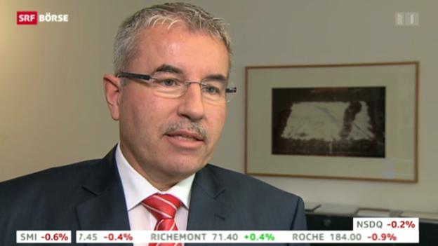 Video «Peter Bänziger, Anlagechef Swisscanto» abspielen