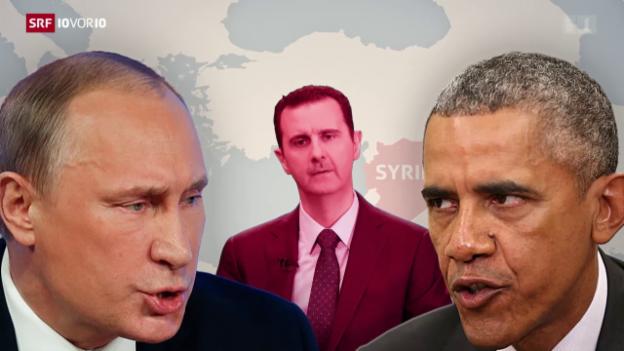 Video «FOKUS: Wladimir Putin trifft auf Barack Obama» abspielen
