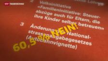 Video «Analyse zum Nein zur teureren Autobahnvignette» abspielen