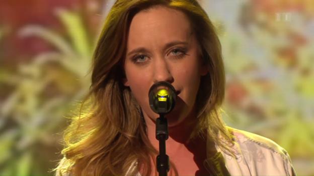 Video «Live im Studio: Anna Känzig mit «Get out»» abspielen