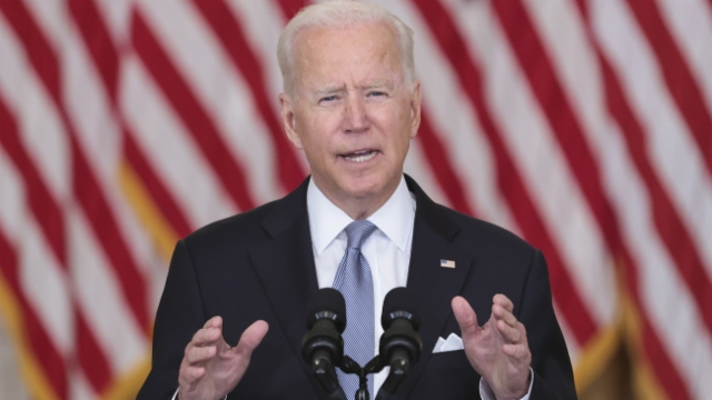 US-Präsident Joe Biden verteidigt den Rückzug der US-Truppen