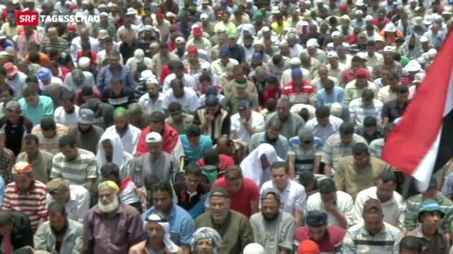 Ägyptens Übergangspräsident legt Fahrplan vor