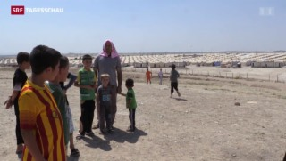 Video «Ein Jahr nach der Vertreibung der Jesiden» abspielen