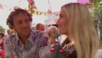 Video «Tanja Frieden ist Mama» abspielen