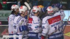 Video «Eishockey: Freiburg-ZSC Lions» abspielen