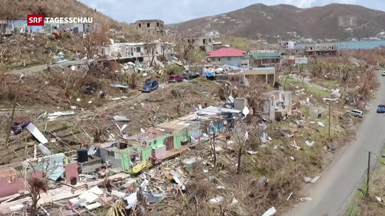 «Irma» hinterlässt riesige Schäden