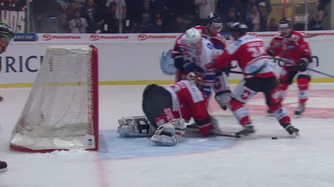 Eishockey: Cup, Visp - ZSC Lions