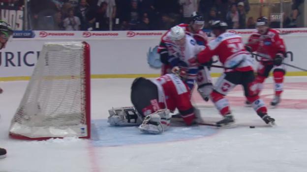 Video «Eishockey: Cup, Visp - ZSC Lions» abspielen