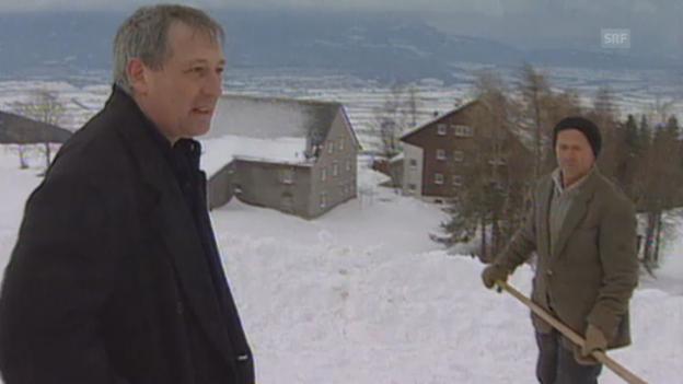 Video «Carlo Schmid verzichtet auf Bundesratskandidatur» abspielen