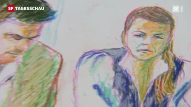 Video «Alle drei Angeklagten sind verurteilt. (Tagesschau 25.5.2012, 19.30)» abspielen