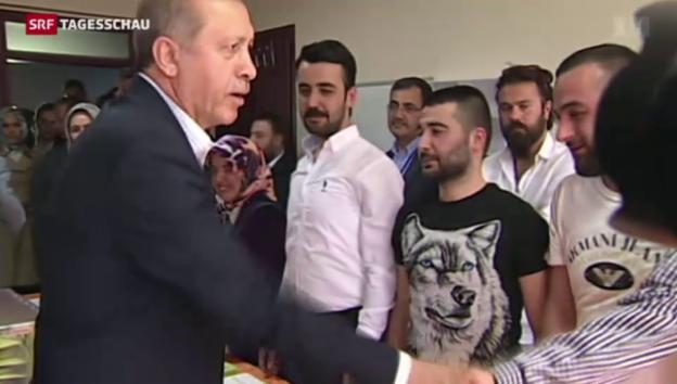 Video «Erdogan verfehlt Wahlziel» abspielen