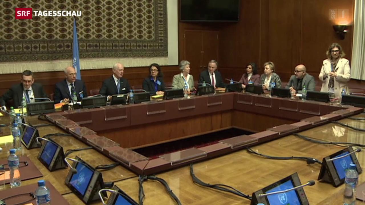 Syrische Opposition lässt sich nicht in Karten schauen