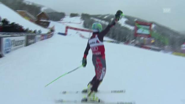 Video «Ski: Die Siegesfahrt von Ted Ligety in Beaver Creek» abspielen