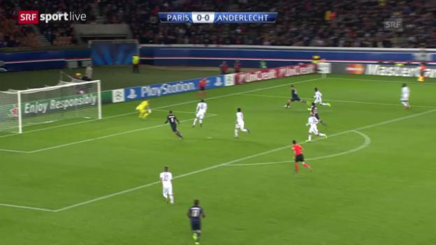 Video «CL: Paris SG - Anderlecht («sportlive»)» abspielen