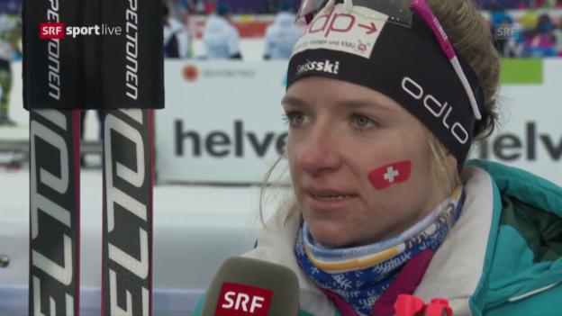Video «Fähndrich: «Sehr hartes Rennen»» abspielen