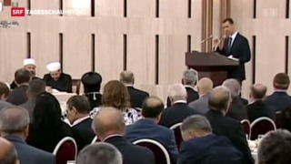 Video «Assad gibt sich nachdenklich» abspielen