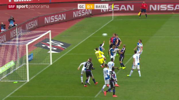 Video «Basel zeigt GC den Meister» abspielen