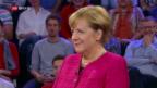 Video «FOKUS: Siegessichere Kanzlerin Merkel» abspielen