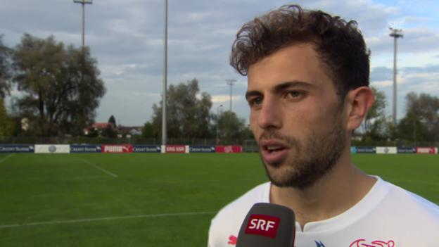 Video «Fussball: Admir Mehmedi im Interview» abspielen