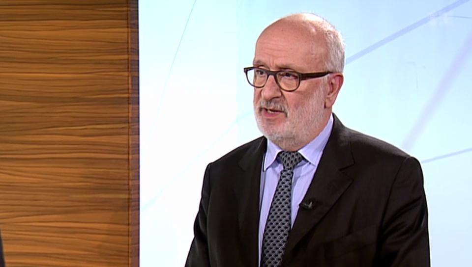 Rolf Soiron über Lafarge-Holcim und dessen design. CEO