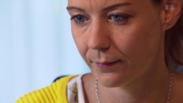 Video «Karin Hammer lernt auch noch für das Handelsdiplom» abspielen