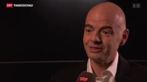 Video «Gianni Infantino – der Fifa-Präsidentschaftskandidat» abspielen