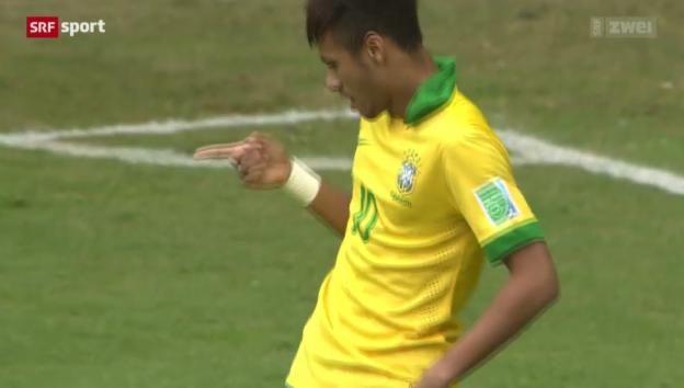Video «Fussball: Neymar - Brasiliens Hoffnungsträger» abspielen