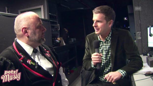 Video ««Potzmusig» hinter den Kulissen: Stephan Haldemann» abspielen