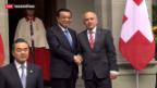 Video «Definitives Freihandels-Abkommen zwischen der Schweiz und China» abspielen