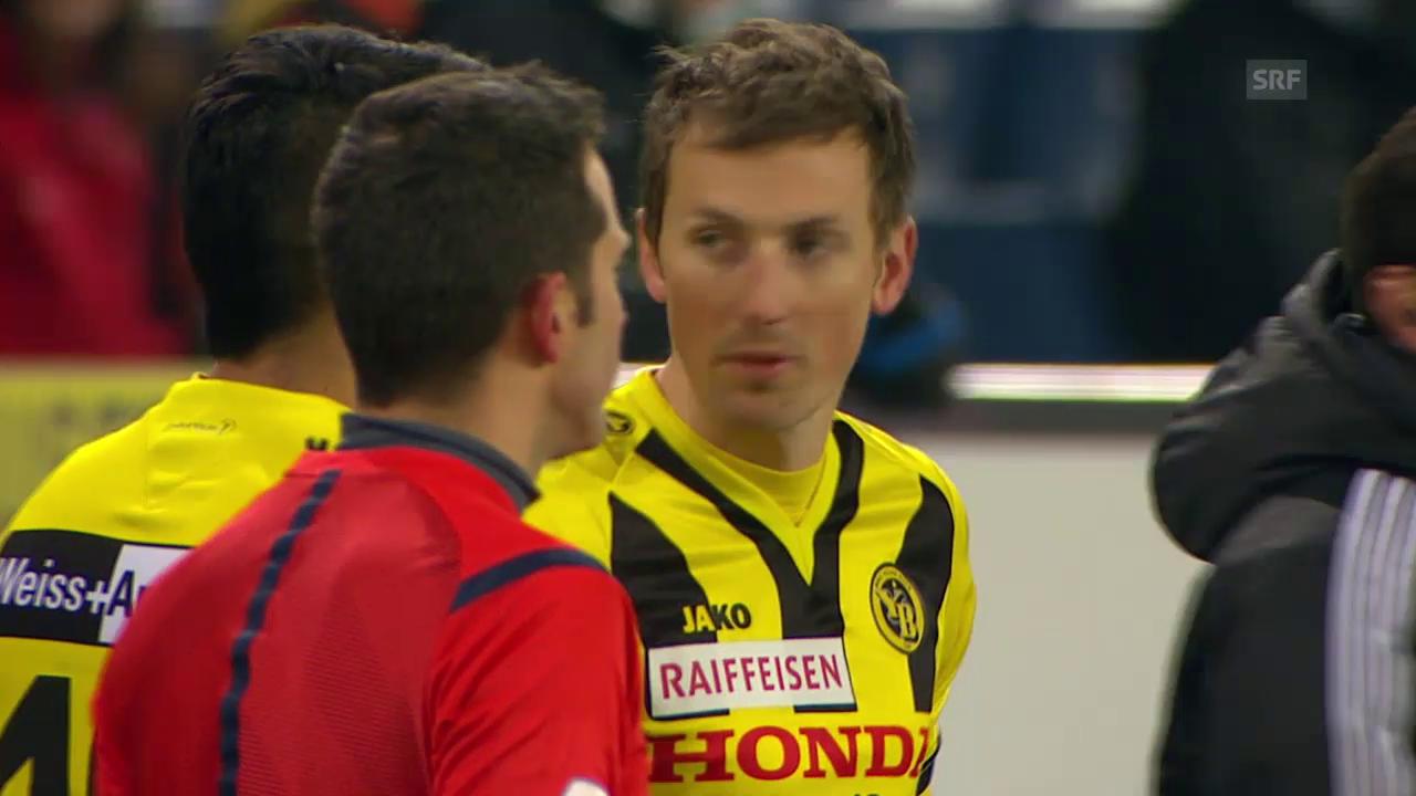 Fussball: Zusammenfassung Luzern - YB