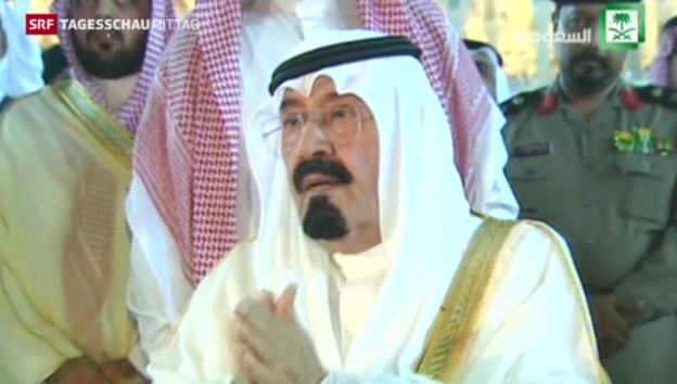 Video «Saudi-arabischer König ist tot» abspielen